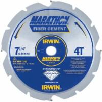 Irwin Marathon Fiber Cement Circular Saw Blade - 7.25 in