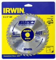 Irwin Marathon Cordless Circular Saw Blade - 6.5 in
