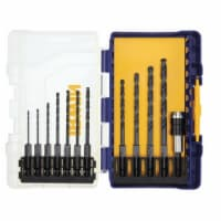 Irwin Hex Shank High Speed Steel Drill Bit Set - 1 ct