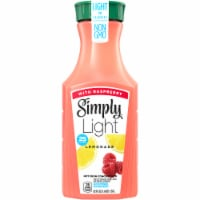 Simply Light Lemonade with Raspberry