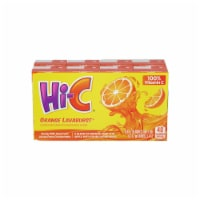 Hi-C Orange Lavaburst Juice Boxes 8 Count