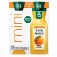 Simply Orange Pulp Free Juice 4 Bottles