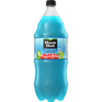 Minute Maid Blue Raspberry Flavored Fruit Drink Bottle