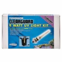 Pondmaster 15810 9W UV Clearguard Filter UV Light Conversion Kit - 1