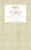Caspari  Paper TC Moire Table Cover Gold