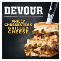 Devour Philly Cheesesteak Grilled Cheese Frozen Meal