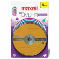 Maxell Color DVD-R Spindle 5 Pack