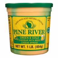 Pine River Green & Gold Cheddar with Beer Cheese Spread