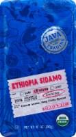 Java Trading Organic Ethiopia Sidamo Ground Coffee