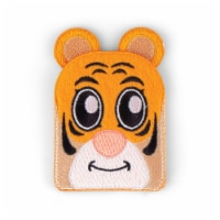 Tiger Shaped Stick-On Phone Wallet - 1