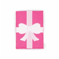 Gift Box Shaped Stick-On Phone Wallet - 1