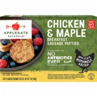 Applegate Chicken & Maple Breakfast Sausage Patties 6 Count