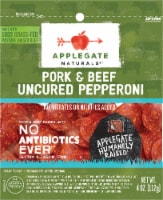 Applegate Naturals Uncured Pork & Beef Pepperoni