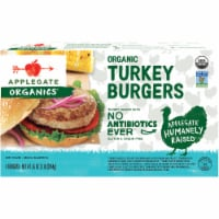 Applegate Organic Turkey Burger 4 Count