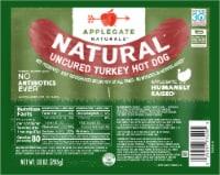 Applegate Natural Uncured Turkey Hot Dog