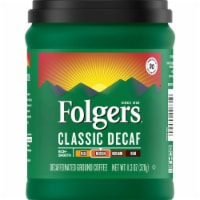 Folgers Classic Decaf Medium Roast Ground Coffee - 11.3 oz