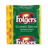 Ground Coffee, Fraction Pack, Classic Roast Decaf, 1.5oz, 42/Carton 06433