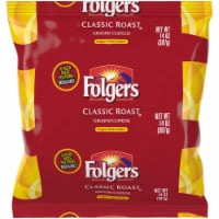Folgers Classic Roast Ground Coffee, 10 count per pack -- 16 per case.