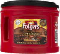Folgers Coffeehouse Blend Med-Dark Ground Coffee