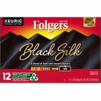 Folgers Gourmet Selections Black Silk Dark Roast Coffee K-Cup Pods