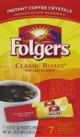 Folgers Classic Roast Instant Coffee Crystals Packets