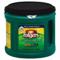 Folgers Classic Decaf Medium Roast Ground Coffee - 30.5 oz