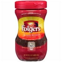 Folgers Caffeinated Classic Roast Instant Coffee - 8 oz