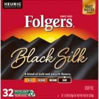 Folgers Ground Black Silk K-Cup Pods