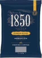 1850 Pioneer Blend Ground Coffee, Satellite/Urn Pack, Medium Roast, 9 oz, 12 Count - 5