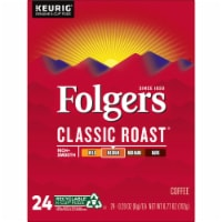 Folgers Classic Roast Coffee K-Cup Pods