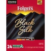 Folgers Black Silk Dark Roast Coffee K-Cup Pods