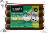 Tofurky Vegan Italian Sausages