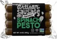 Tofurky Vegan Artisan Spinach Pesto Sausages