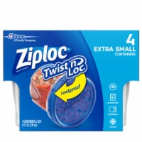 Ziploc Twist n' Loc Xtra Small Containers