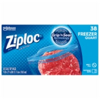 Ziploc Quart Freezer Easy Open Tabs Storage Bags