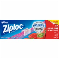 Ziploc Slider Zipper Quart All-Purpose Bags