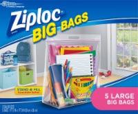 Ziploc® Large Big Bags Storage Bags - Clear