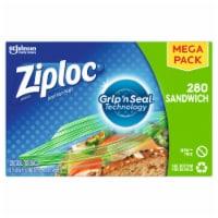 Ziploc Zipper Sandwich Bags 280 Count