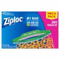 Ziploc Easy Open Tabs Snack Bags