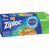 Ziploc Seal Top Sandwich Bags