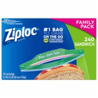 Ziploc Family Pack Sandwich Bags