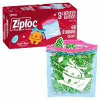 Ziploc Quart Holiday Zip Top Bags - 48 ct