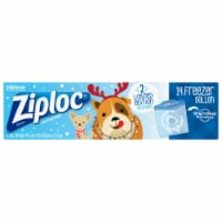 Ziploc® Holiday Gallon Seal Top Freezer Bags - 14 ct