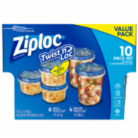 Ziploc Twist n Loc Value Pack Containers and Lids