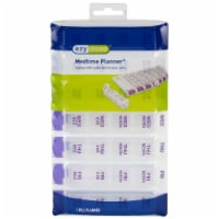 Ezy Dose Weekly 4 Times Per Day Pill Planner