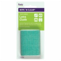 Flents Wipe 'N Clear Textured Lens Cloth - Aqua