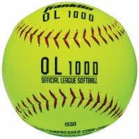 Franklin Synthetic Cork/Rubber Softball  - Yellow