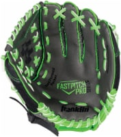 Franklin Fastpitch Pro Series Regular Softball Glove - Lime/Black