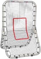 Franklin MLB Junior Deluxe Training Net - Black/Red