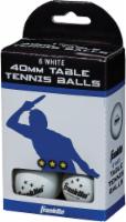 Franklin 3 Star Table Tennis Balls - 6 pk